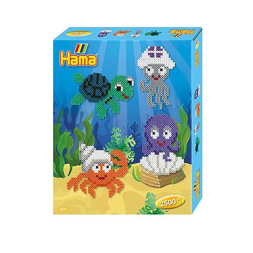 Hama midi - creature marine