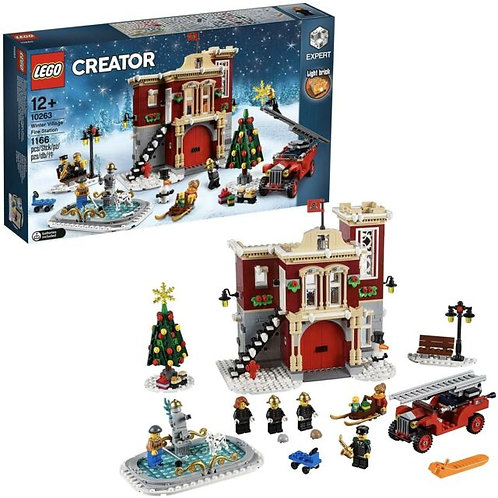Lego Creator - Caserma dei pompieri del villaggio invernale
