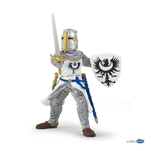 Cavaliere bianco con spada