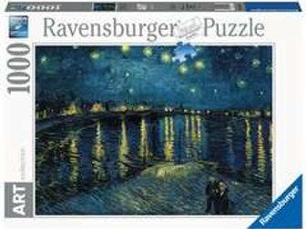 Puzzle 1000 pz. - Notte stellata sul Rodano
