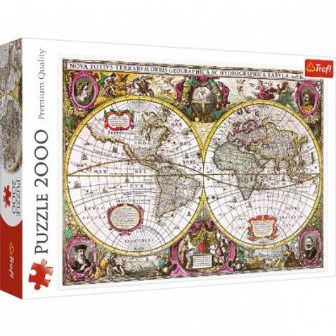 Puzzle 2000 pz. Mappa antica