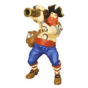 Pirata con cannone