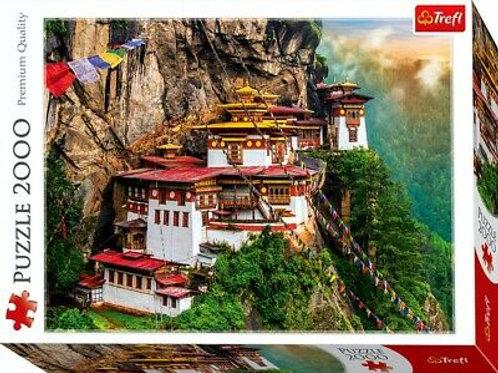 Puzzle 2000 pz. - Monastero di Bhutan