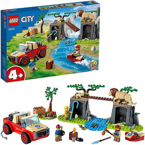 Lego City - Fuoristrada soccorso animali
