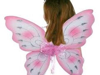 """Fata: Ali preziose elfo farfalla """"Rosa"""""""