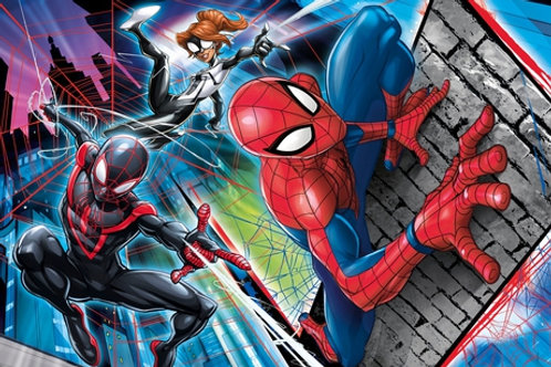 180 pz. Clem Spider Man - Sul muro