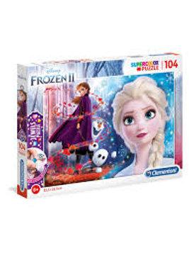 Puzzle 104 pz. jewels - Frozen II