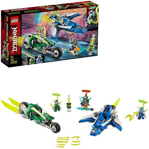 Lego Ninjago - I bolidi di velocità di Jay e Lloid