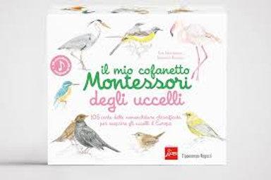 Mio cofanetto Montessori degli uccelli