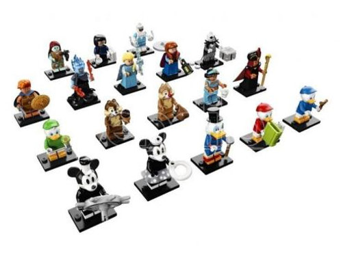 Lego Minifigures  Serie Disney 2