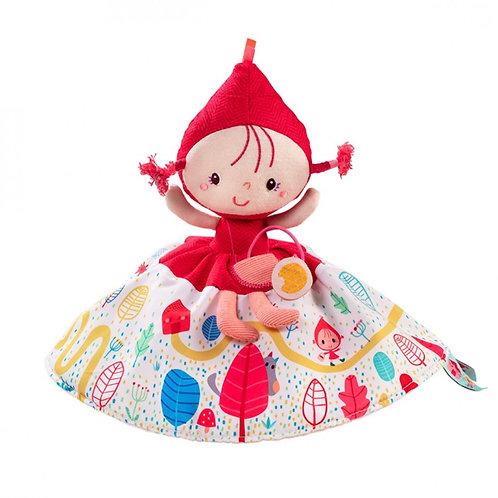 Bambola raccontastorie reversibile Cappuccetto Rosso