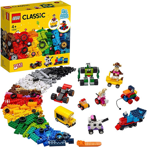 Lego Classic - Mattoncini e ruote