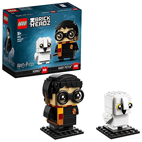 Lego Brickheadz - Harry Potter e Hedvige