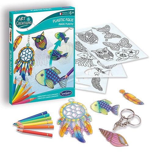 Plastic folie - Portachiavi e magneti