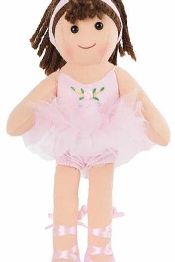 Bambola Ballerina rosa My Doll - H cm. 32 (Fannie)