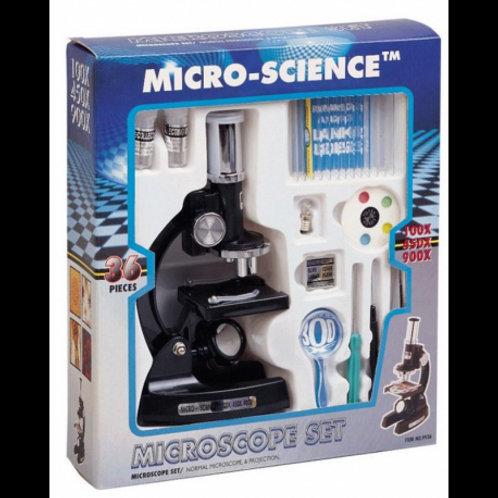 Microscopio 80x - 450x