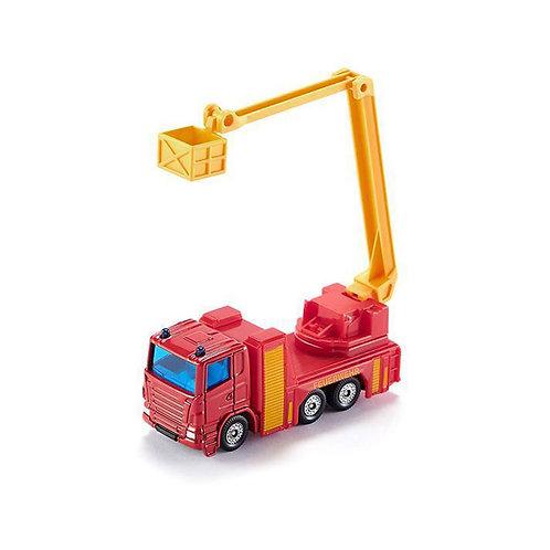 Camion dei pompieeri con cestello