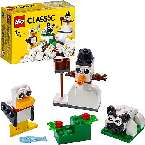 Lego Classic - Mattoncini bianchi creativi