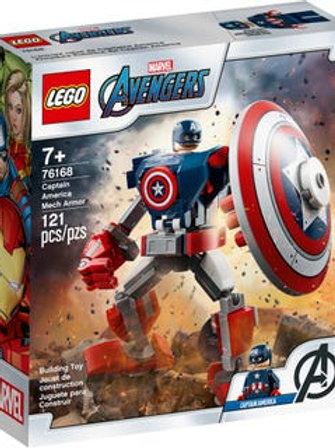 Lego Marvel - Armatura mech di Capitan America