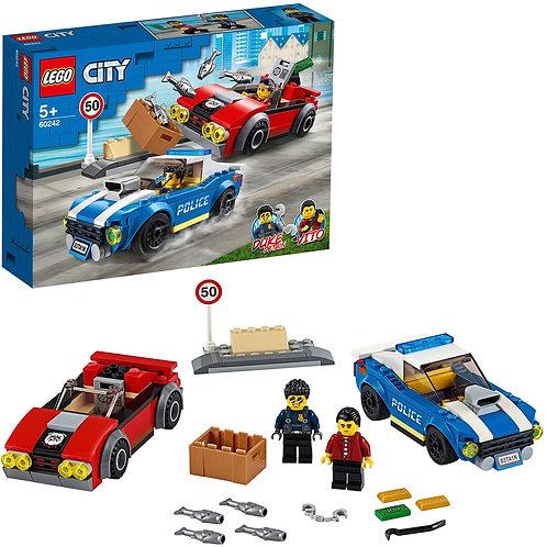 Lego city - Arresto su strada della polizia