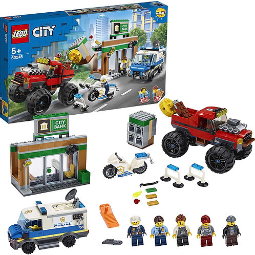 Lego City - Rapina sul monstewr truck