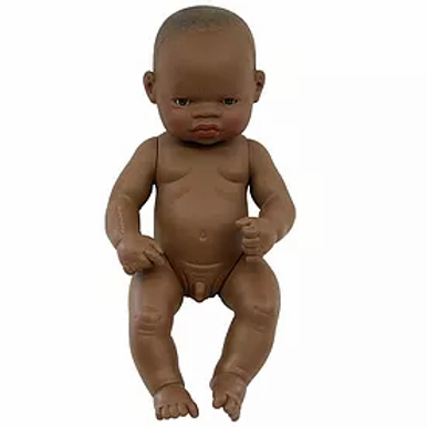 Bambola cm.32 africana maschio
