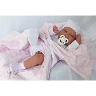 Bambola New Born Carla cm. 42 vinile