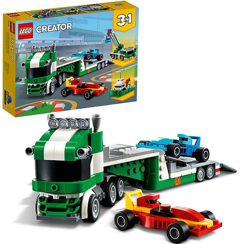 Lego Creator - Trasportatore di auto da corsa