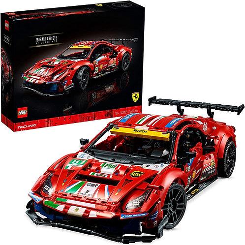 """Lego Technic - Ferrari 488 GTE """"AF Corse n.51"""