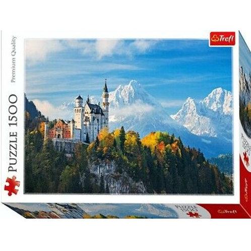 Puzzle 1500 pz. - Alpi bavaresi