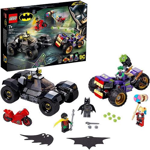 Lego Marvel - Batman All'inseguimento del tre ruote di Joker