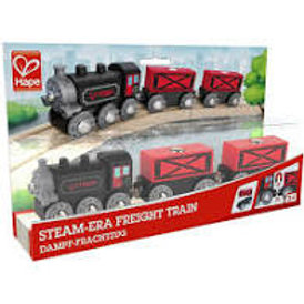 Treno merci a vapore