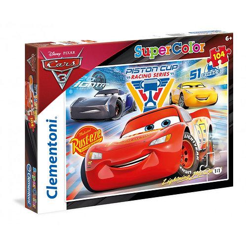 Puzzle 104 pz. - cars
