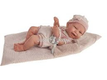 Bambola New Born Carla sacchetto cm. 40