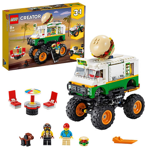 Lego Creator - Monster truck degli hamburger