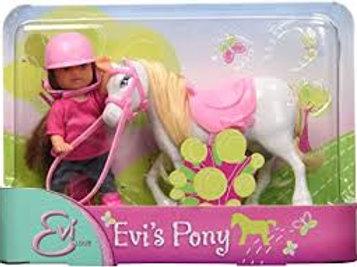 Bambola Evi Love con pony