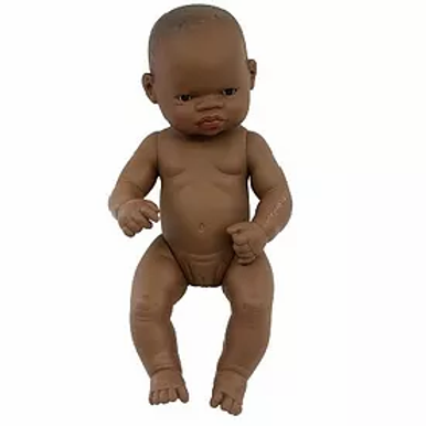 Bambola cm.32 africana femmina