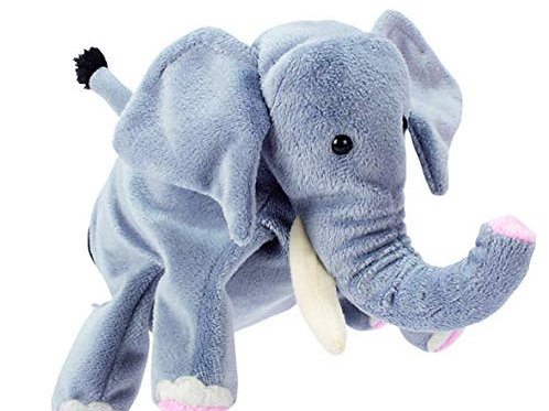 Burattino a guanto elefante