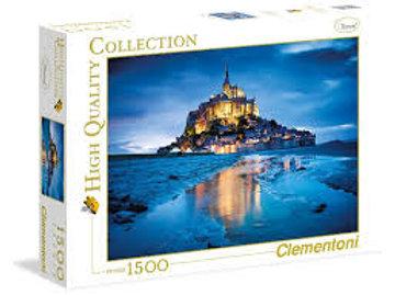 1500 pz. Le Mont Saint-Michel