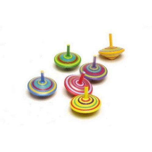 Trottola cerchi colorati