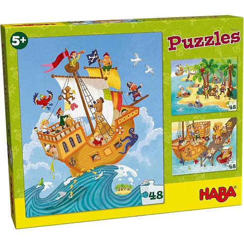3x48 pz. Haba - Pirati & Co.