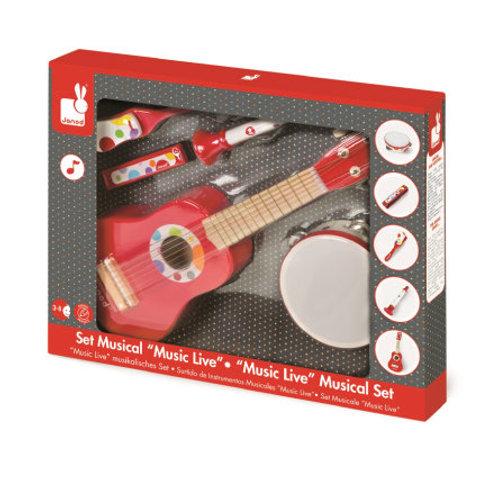 Confetti - Set musicale con chitarra