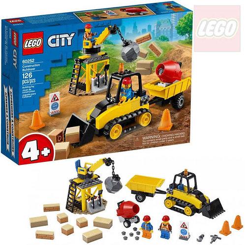 Lego City - Bulldozer da cantiere
