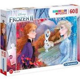 Puzzle 60 pz. grandi Frozen II