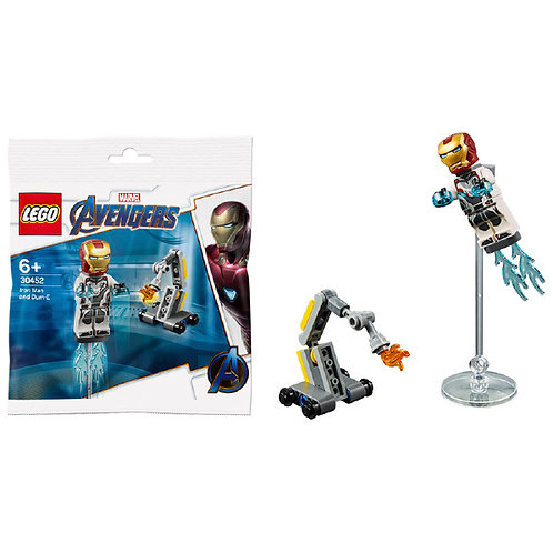 Lego Marvek - Iron Men e Dum-E