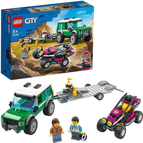 Lego City - Trasportatore di buggy da corsa