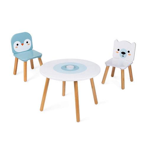 Tavolo e 2 sedie - Polar