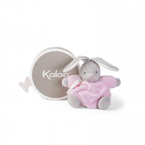 Peluche coniglietto rosa - 18 cm.