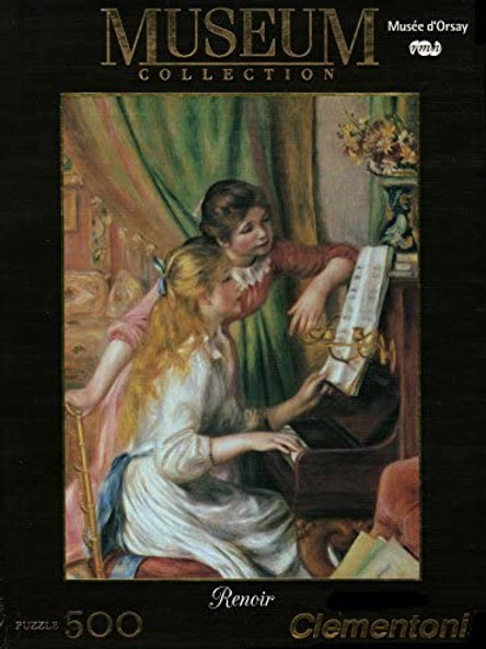 Puzle 500 pz. - Renoir, Fanciulle al piano