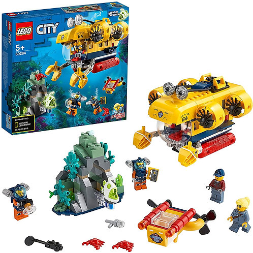 Lego City - Sottomarino esplorazione oceanica